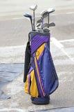 torba klubów w golfa Fotografia Stock