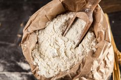 Torba mąka fotografia stock