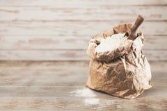 Torba mąka zdjęcie stock