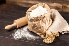 Torba mąka obrazy royalty free