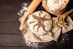 Torba mąka obraz stock