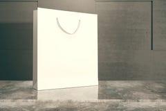 torba na zakupach white Fotografia Royalty Free