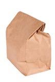 torba odizolowywał lunchu papier Zdjęcia Stock