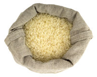 Torba pełno obgotowywający ryż Zdjęcia Stock