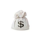 torba pieniądze Obraz Royalty Free