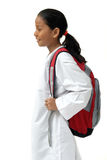 torba przynosi dziewczyny szkoły przedstawienie Zdjęcie Stock