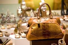 torba sklep z butami Zdjęcie Royalty Free