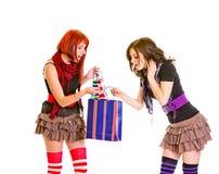torba target795_0_ ciekawe dziewczyny target798_0_ zakupy Obrazy Royalty Free