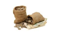 torba ukuwać nazwę pieniądze zdjęcie royalty free