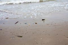 Torba w plaży Zdjęcie Royalty Free