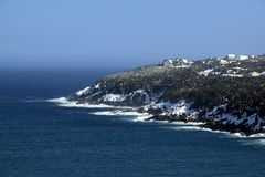 Torbay Bight Killick Coastline Newfoundland Stock Photo