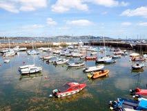 Torbay och Paignton hamn, Devon Royaltyfria Bilder