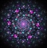 Torbellino celestial de galaxias Imagen de archivo