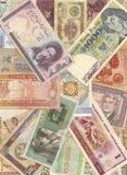 Torbellino del dinero Imagen de archivo libre de regalías