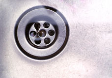 Torbellino del fregadero Imagen de archivo