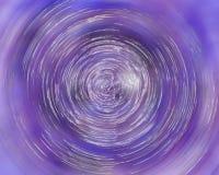 Torbellino púrpura Imágenes de archivo libres de regalías