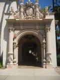 Torbogen-Balboa-Park Lizenzfreie Stockfotos