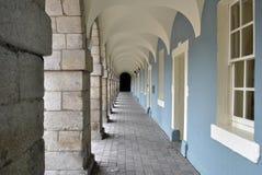 Torbogen in den colllins Kasernen Stockfoto