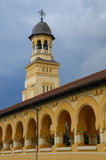 Torbogen einer orthodoxen Abtei lizenzfreie stockfotografie