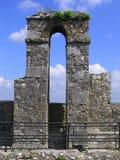 Torbogen-Geschwätz-Schloss Irland Stockbild