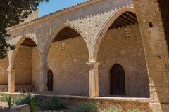 Torbogen im Agia Napa Kloster, Zypern Lizenzfreies Stockbild
