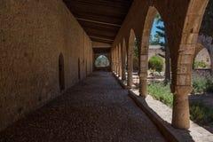 Torbogen im Agia Napa Kloster, Zypern Stockfoto