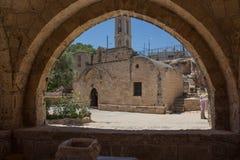 Torbogen im Agia Napa Kloster, Zypern Lizenzfreie Stockfotografie