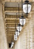 Torbogen-Palais Royal Lizenzfreie Stockbilder