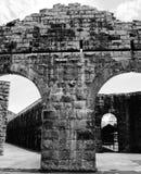 Torbogen an Probebucht Gaol lizenzfreie stockfotografie