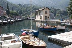 Torbole auf See Garda Italien Lizenzfreies Stockfoto