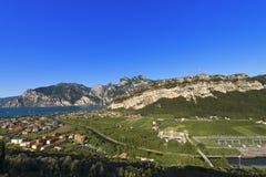Torbole and Garda Lake - Trentino Italy Royalty Free Stock Photography