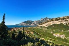 Torbole and Garda Lake - Trentino Italy Stock Photos