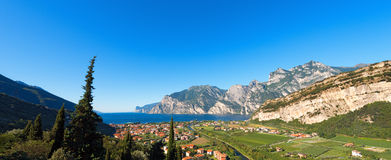 Torbole and Garda Lake - Trentino Italy Royalty Free Stock Image