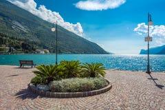 Torbole, Italien Stockbild