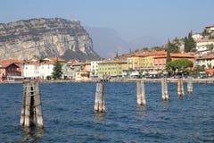 Torbole, lago Garda, Italy Foto de Stock Royalty Free