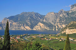 Torbole,Lake Garda Royalty Free Stock Photography