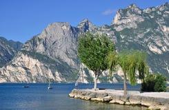 Torbole,Lake Garda Stock Images
