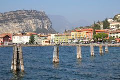 Torbole, Lake Garda,Italy Royalty Free Stock Photo