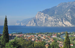 Torbole,Lake Garda,Italy Stock Photography