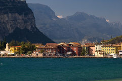 Torbole (lake Garda, Italy) stock photo