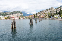 Torbole at Lake Garda Royalty Free Stock Photo