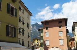 Torbole on Lake Garda Italy Stock Image