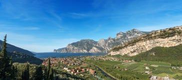 Torbole and Lake Garda - Trentino Italy Stock Photos
