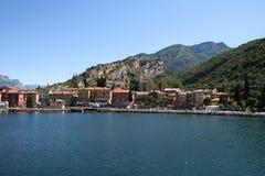 Torbole, Meer Garda, Italië. royalty-vrije stock afbeeldingen