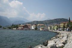 Torbole north Lake Garda Royalty Free Stock Photo