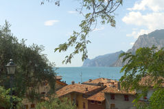 Torbole sulla polizia Italia del lago Immagine Stock Libera da Diritti