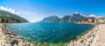 Torbole - Wind Surfers Paradise On Lake Garda, Italy Stock Image
