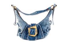 torby błękit dziewczyna Zdjęcia Royalty Free