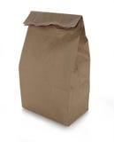 torby brąz lunchu papier Zdjęcie Royalty Free