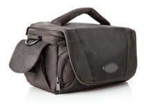 torby czerń odizolowywający kieszeniowy elegancki biel Obrazy Royalty Free